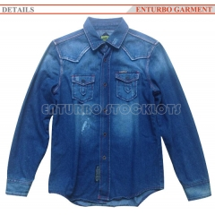 Men Denim Jean Jacket