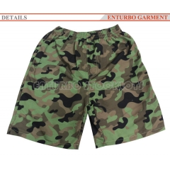 BOY'S BEACH CAMOUFLAGE SHORTS